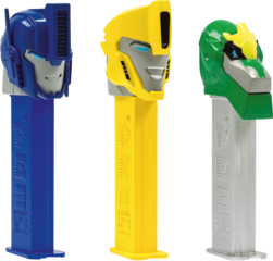 PEZ Dispenser Set TRANSFORMERS