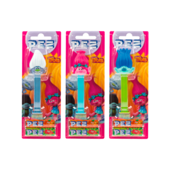 PEZ Spender-Set TROLLS