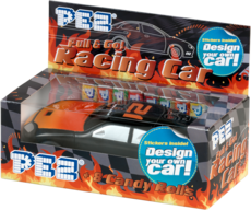 PEZ Racing Car